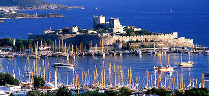Bodrum Castle and General View